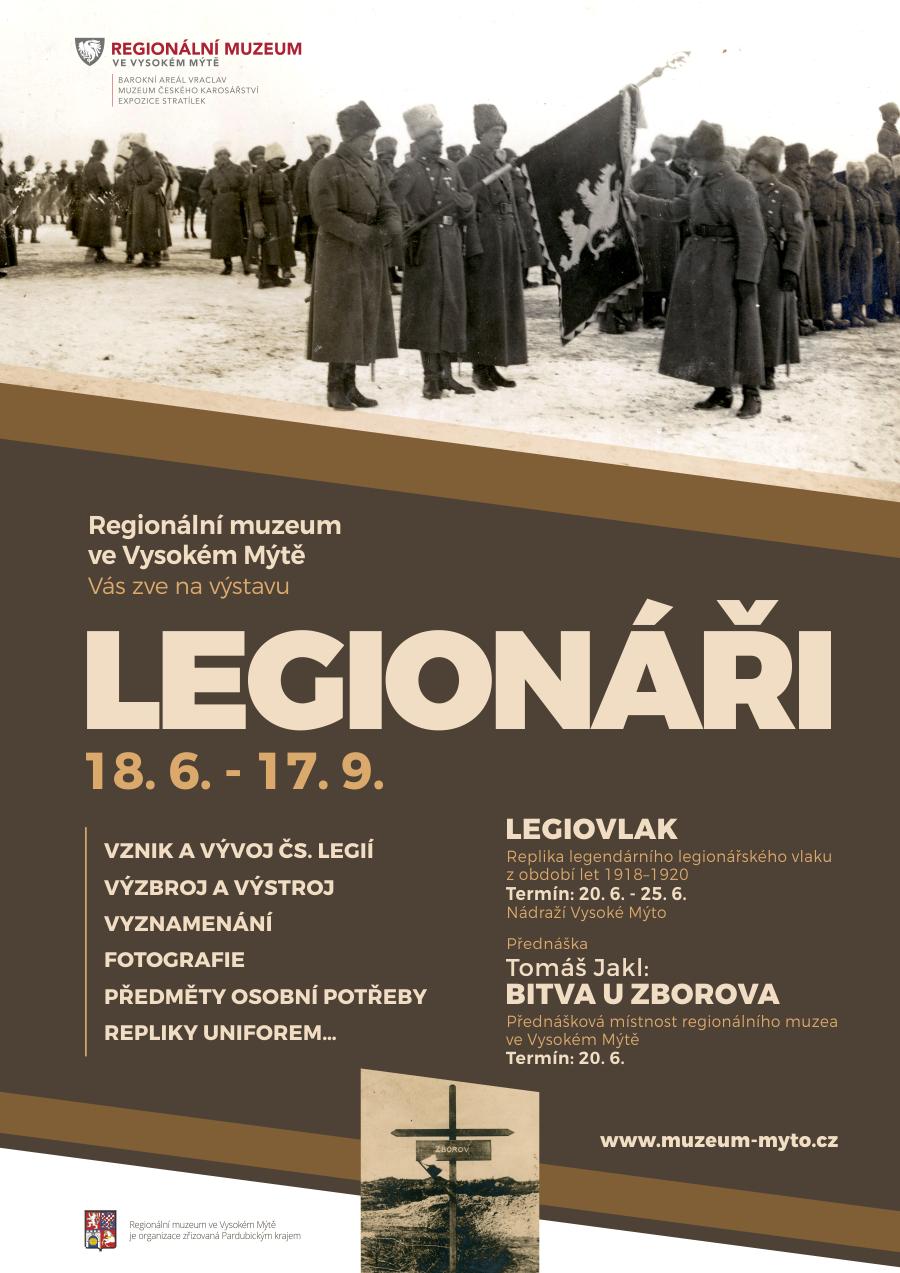 výstava legionáři