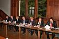 Zástupci Pardubického kraje při jednání