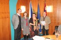Zástupci Letohradského soukromého gymnázia