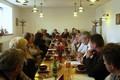 Radní Václav Kroutil se setkal v Mikulovicích s  producenty vepřového masa. Foto: Luboš Kozel