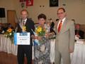 Čestné diplomy udělovali náměstek hejtmana Josef Janeček a vicehejtman Roman Línek